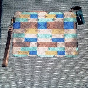 The Limited multicolor wristlet